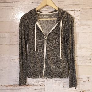 Aeropostale full zip hooded sweatshirt